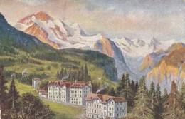 LA JUNGFRAU/SUISSE/ED. DE LA CHOCOLATERIE D'AIGUEBELLE (chloéF) - Svizzera