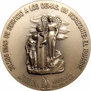 ESPAÑA. MEDALLA ORDEN HOSPITALARIA DE LOS HERMANOS DE SAN JUAN DE DIOS. 1.992. ESPAGNE. SPAIN MEDAL - Royaux/De Noblesse