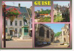 02  GUISE / MULTIVUES - STATUE DE CAMILLE DESMOULINS - - Guise
