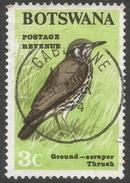 Botswana. 1967 Birds. 3c Used SG 222 - Botswana (1966-...)