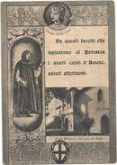 Y4264 Arquà Petrarca (Padova) - La Casa Del Poeta - Illustrazione Illustration / Viaggiata 1952 - Altre Città