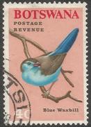 Botswana. 1967 Birds. 4c Used SG 223 - Botswana (1966-...)