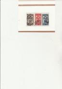 PORTUGAL -  N° 572 A 574 OBLITERE  TB  ANNEE 1934 - COTE : 20 € - 1910-... République