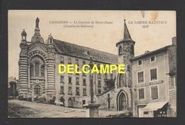 DF / 48 LOZERE / LANGOGNE / LE COUVENT DE NOTRE-DAME ( CHAPELLE DES PÉNITENTS ) / CIRCULÉE EN 1921 - Langogne