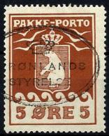 Groenlandia Paquetes Postales Nº 3 Usado - Colis Postaux