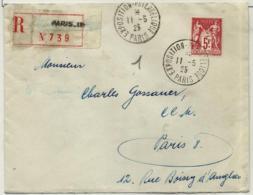 Francia Nº 216 En Sobre - Used Stamps