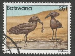 Botswana. 1982 Birds. 25t Used SG 526 - Botswana (1966-...)