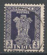 India 1950. Scott #O113 (U) Capital Of Asoka Pillar, Lions - Timbres De Service
