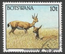Botswana. 1992 Animals. 10t Used SG 742 - Botswana (1966-...)