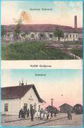 VELIKI GRDJEVAC - Railway Station Bahnhof Stazione Ferroviaria * Croatia * Travelled 1914. * Bjelovar Daruvar RRR - Croatia