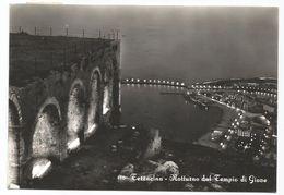 Y4274 Terracina (Latina) - Panorama Notturno Dal Tempio Di Giove - Notte Nuit Night Nacht Noche / Viaggiata 1962 - Altre Città