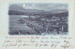 CROATIA - HRVATSKA, UN SALUTO DA LUSSINPICCOLO 1899 - Croatie