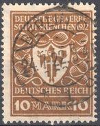 Deutsches Reich 1922 - Mi.203 - Used - Gestempelt - Deutschland