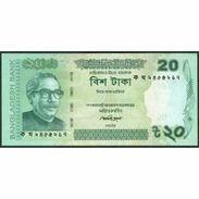 TWN - BANGLADESH 55Aa1 - 20 Taka 2012 Various Prefixes - Bengali Numerals At Left UNC - Bangladesh
