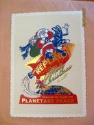 Suisse: Carte Postale Reprint Merry Christmas - Planetary Peace - Stati Uniti