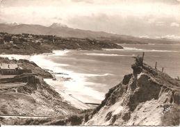 BIDART - La Plage Et Les Pyrénées - Yvon 5054 - écrite Et Voyagée 1959 - Tbe - Bidart