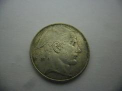 BELGIQUE - Belgie 20 Francs Argent 1951 - 07. 20 Frank