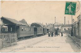 MELUN - La Station De Tramway De Verneuil - Melun