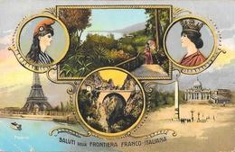 Saluti Della Frontiera Franco-Italiana (Parisi-Roma, Francia-Italia) - Douane