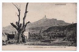 SAINT PIERRE APRES LA CATASTROPHE DU 8 MAI 1902 - Non Classés