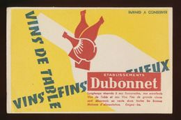 Buvard - Vin De Table - Etbs.DUBONNET - Buvards, Protège-cahiers Illustrés