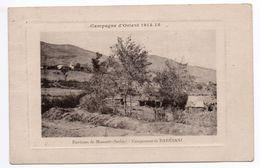 CAMPAGNE D'ORIENT 1914-1918 - ENVIRONS DE MONASTIR - CAMPEMENT DE BARESANI - Serbie
