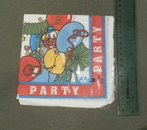 Clown Circus, Balloons ... PARTY - Paper Napkins (decorated)