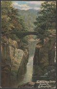 E Longstaffe - The Hermitage Bridge, Dunkeld, Perthshire, 1905 - Hildesheimer Postcard - Perthshire