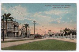 HABANA - CALLE LINEA EN EL VEDADO - Cuba