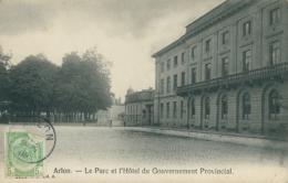 BE ARLON / Le Parc Et L'hôtel Du Gouvernement Provincial / - Arlon