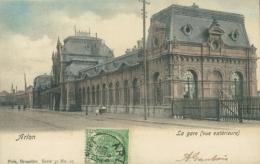 BE ARLON / La Gare /  Nels Série 31 N° 25  BELLE CARTE COULEUR - Arlon
