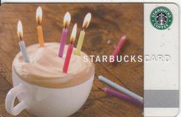 CANADA - Happy Birthday, Starbucks Card, CN : 6059, Unused - Gift Cards
