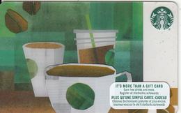 CANADA - Starbucks Card, CN : 6131, Unused - Gift Cards