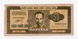 !!! VIETNAM : BILLET DE 50 DONG DE 1950 - Vietnam