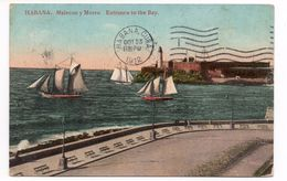 HABANA - MALECON Y MORRO - ENTRANCE TO THE BAY - Cuba