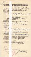 Verklaring Militair Origineel Document Politieke Gevangenen - Hantson Jean - Gent Oorlog 1940 - 1945 - Documents