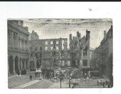 CPA 42  Saint Etienne  Catastrophe Rue Gerentet Voir Description 2 Scan 5juin 190? - Saint Etienne