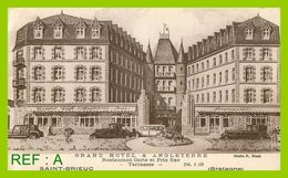 Saint Brieuc Grand Hotel Et Angleterre Restaurant Carte Et Prix Fixe Terasse - Saint-Brieuc
