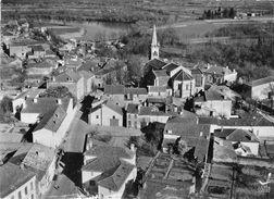 47-MEILHAN- VUE DU CIEL L'EGLISE ET LE CENTRE - Meilhan Sur Garonne