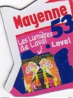 Magnets Magnet Le Gaulois Departement France 53 Mayenne - Tourism