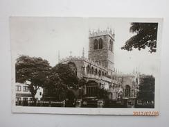 Postcard East Retford Church Nottinghamshite To Miss Dawson Norfolk Road Margate RP PU 1910 My Ref B11432 - Other