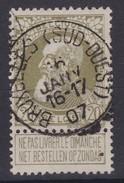 N° 75 BRUXELLES SUD OUEST - 1905 Breiter Bart