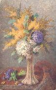 Themes Div -ref T472 - Illustrateurs- Illustrateur - Raphael Tuck - Oilette -fleurs - Carte Bon Etat  - - Tuck, Raphael
