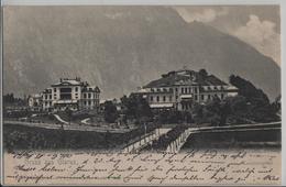 Gruss Aus Glarus - Kantonspital - Photo: Guggenheim - GL Glaris