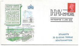 GB 25 ANS DU JOUR J 1969 - Guerre Mondiale (Seconde)