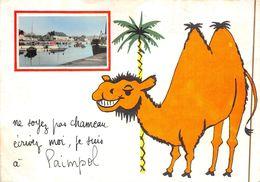 ¤¤  -   PAIMPOL   -  Petite Vue  -  Illustrateur  -  Chameau  -  ¤¤ - Paimpol