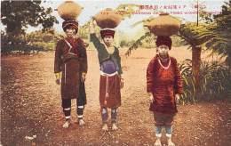 TAIWAN / Water Carring Of Ami Tribe Women Formosa - Taiwan