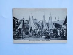 C.P.A. BELIZE Market, Unloading Bananas, En 1908 - Belize