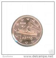 Griekenland    2013    1ct    UNC Uit De Rol  UNC Du Rouleaux  !! - Grèce