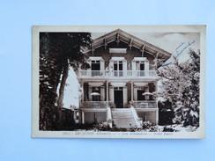 """C.P.A. 33 ARCACHON : Villa """"Les Arbousiers"""", Côté Parc, Plan Rare - Arcachon"""